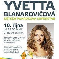 Yvetta Blanarovičová navštíví Forum Liberec