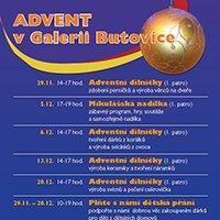 V Galerii Butovice právě začíná advent