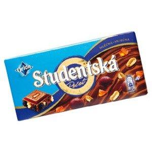 Orion Studentská pečeť čokoláda, vybrané druhy