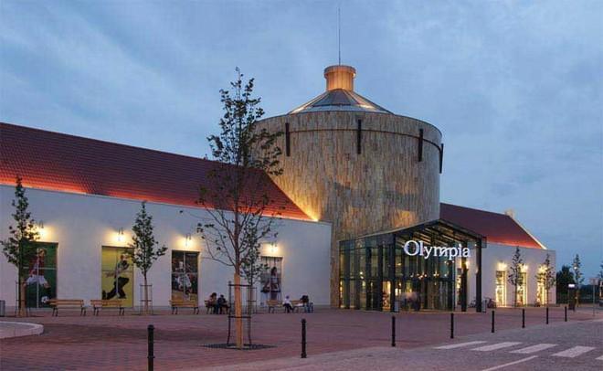 Obchodní centrum Olympia - Olomouc -