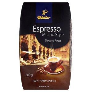 Tchibo Espresso Milano style čerstvá celá kávová zrna 500g