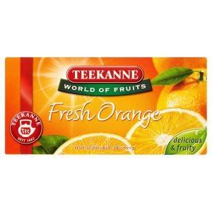 TEEKANNE Fresh Orange, World of Fruits, 20 sáčků, 45g