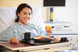 TEST: Nemocniční strava