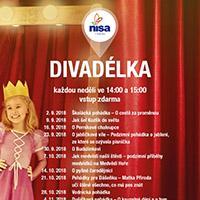 Podzimní Dětská divadelní představení v OC Nisa Liberec