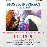 Marie Brožová bude kreslit v OC Plzeň