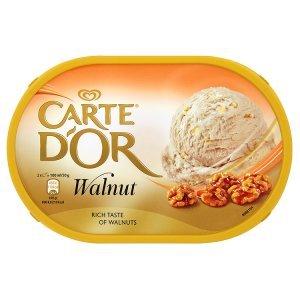 Carte D'Or zmrzlina 1000ml, vybrané druhy