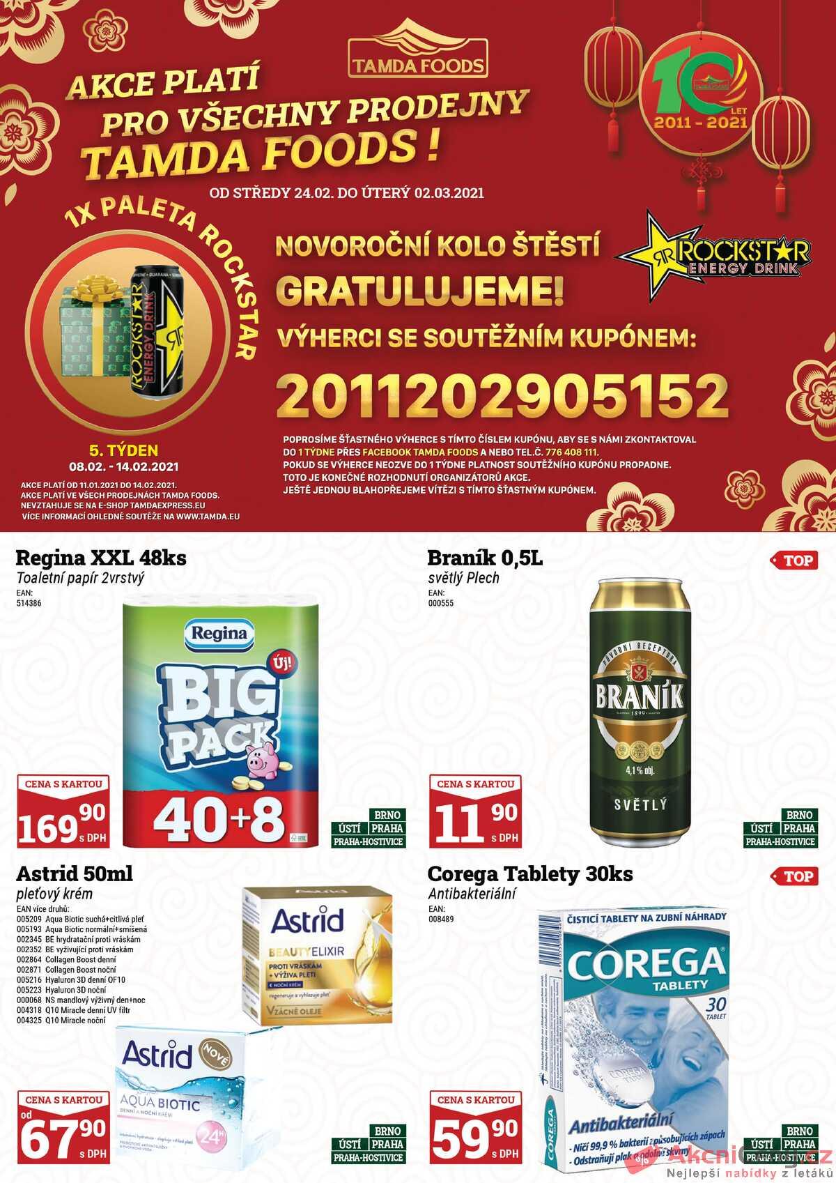 Leták Tamda Foods strana 1/28