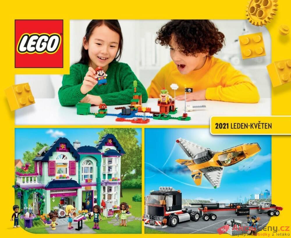 Leták Tesco - Tesco Lego katalog Jaro 2021 - strana 1