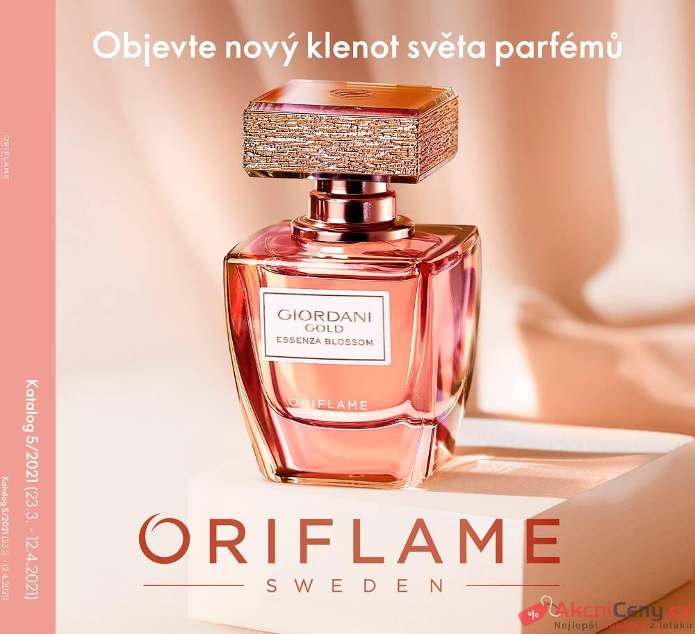 Leták Oriflame - Oriflame do 12.4. - strana 1