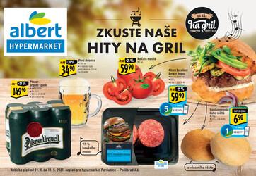 Leták Albert  Hypermarket katalog Gril od 21.4. do 11.5.2021