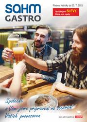 leták Sahm Gastro