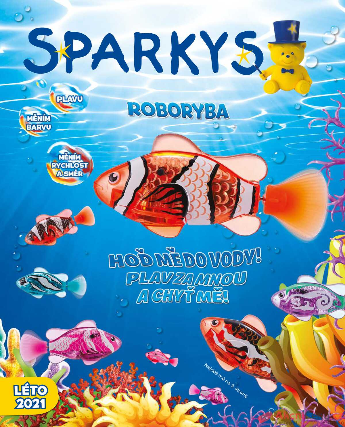 Leták Sparkys strana 1/52