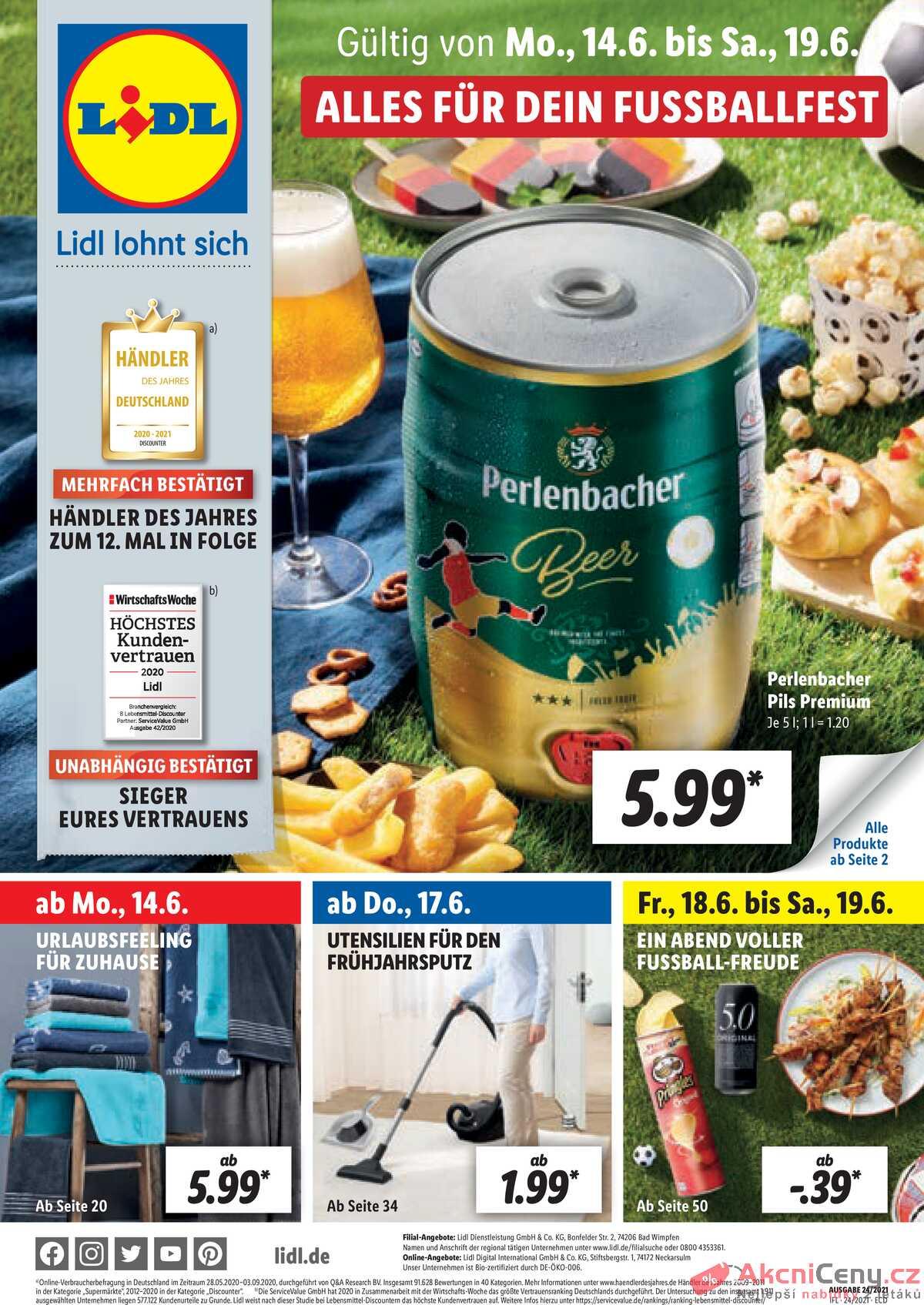 Leták Lidl Deutschland strana 1/55
