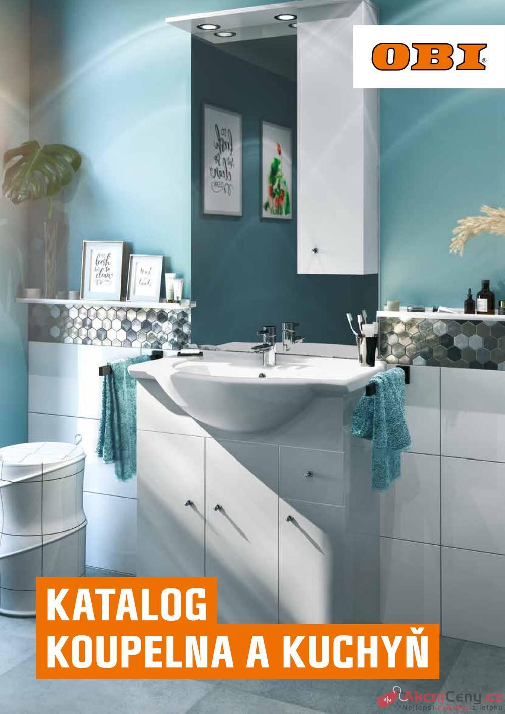 Leták OBI - OBI katalog Koupelna a kuchyň 1.7. - 31.12. - strana 1