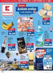 Leták Kaufland 21.7. - 27.7. - Kaufland - České Budějovice
