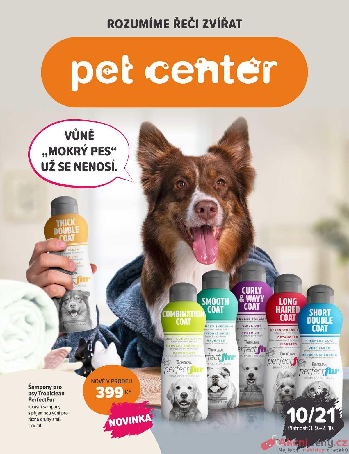 Leták Pet Center strana 1/16