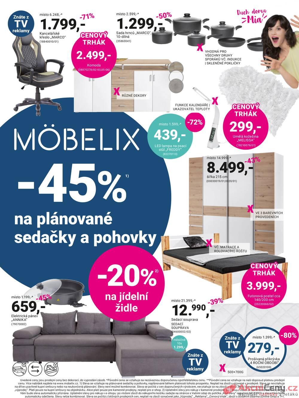 Leták Möbelix - Möbelix od 13.9. do 26.9.2021 - strana 1