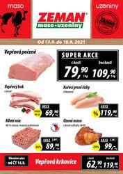 ZEMAN maso-uzeniny : 1 leták