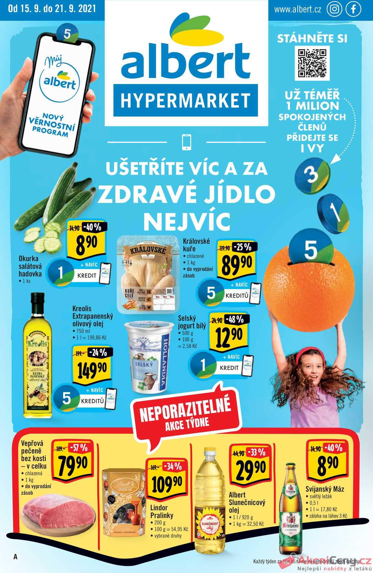 Leták Albert Hypermarket strana 1/32