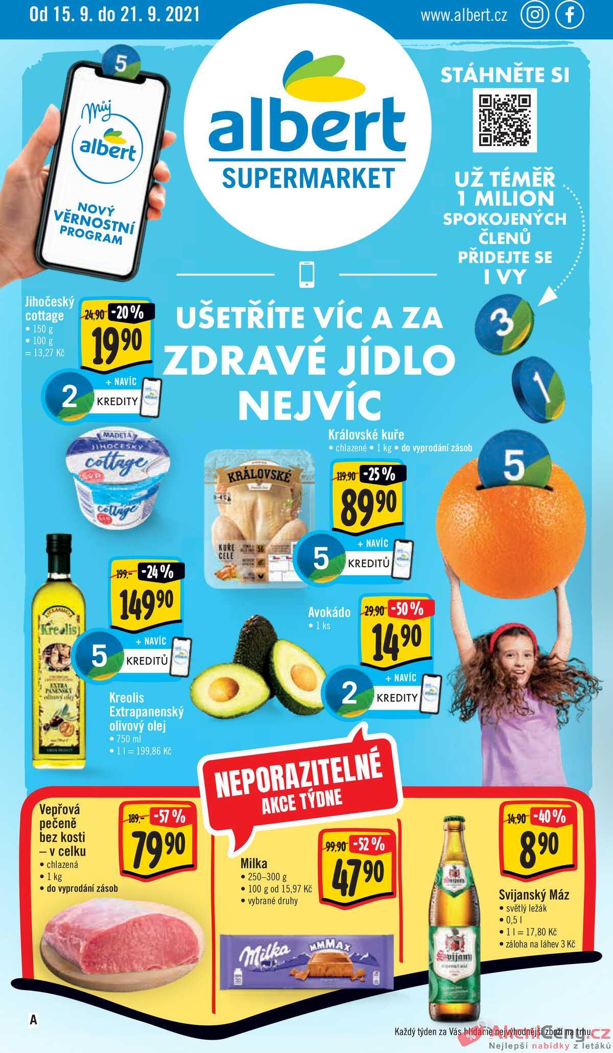 Leták Albert Supermarket strana 1/23