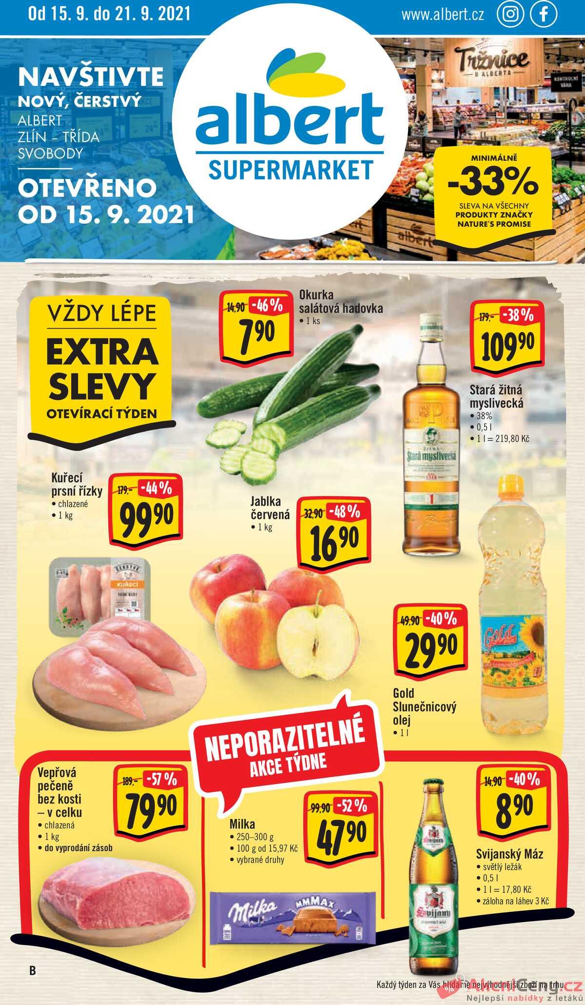 Leták Albert Hypermarket strana 1/28