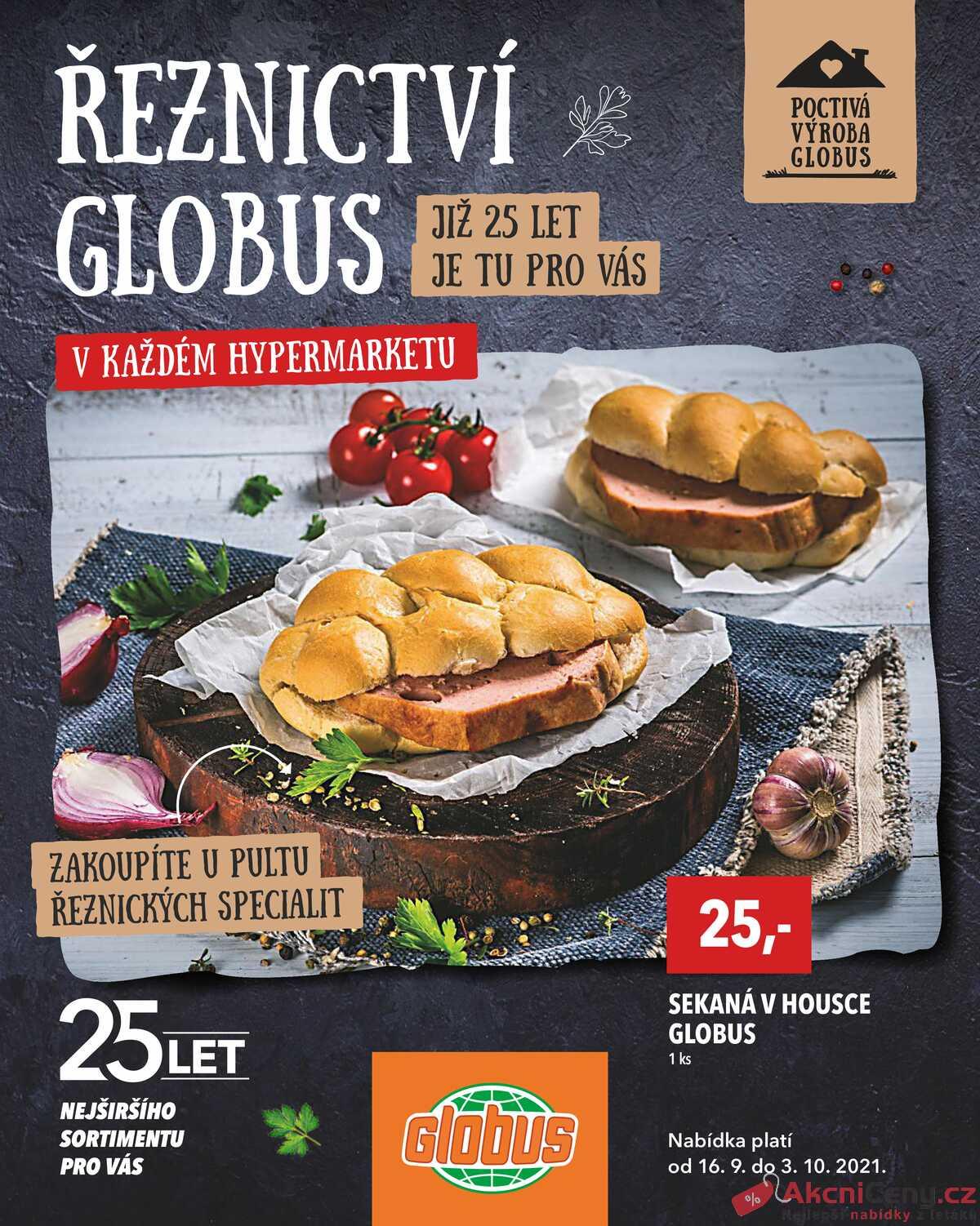 Leták Globus strana 1/8