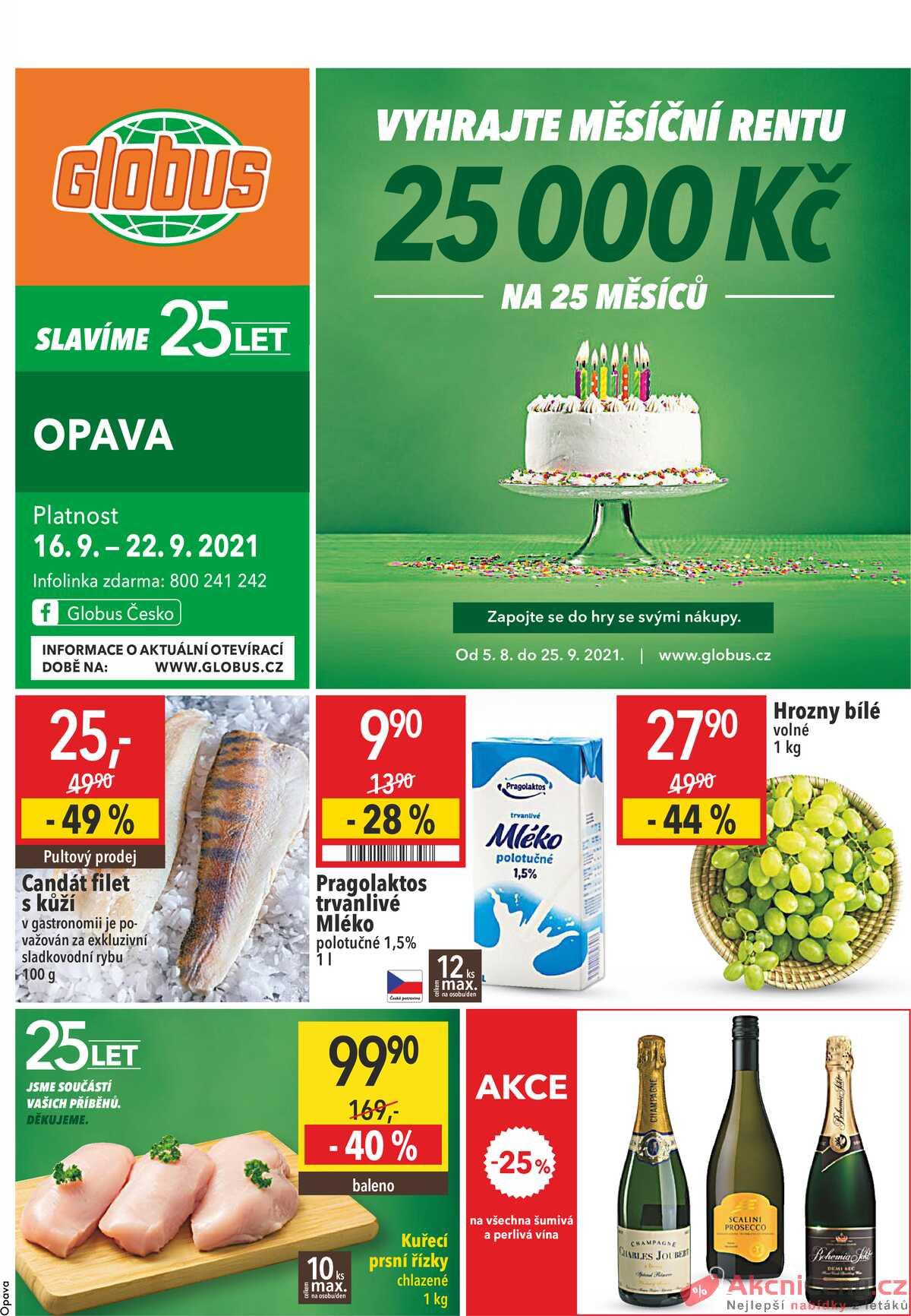 Leták Globus strana 1/27