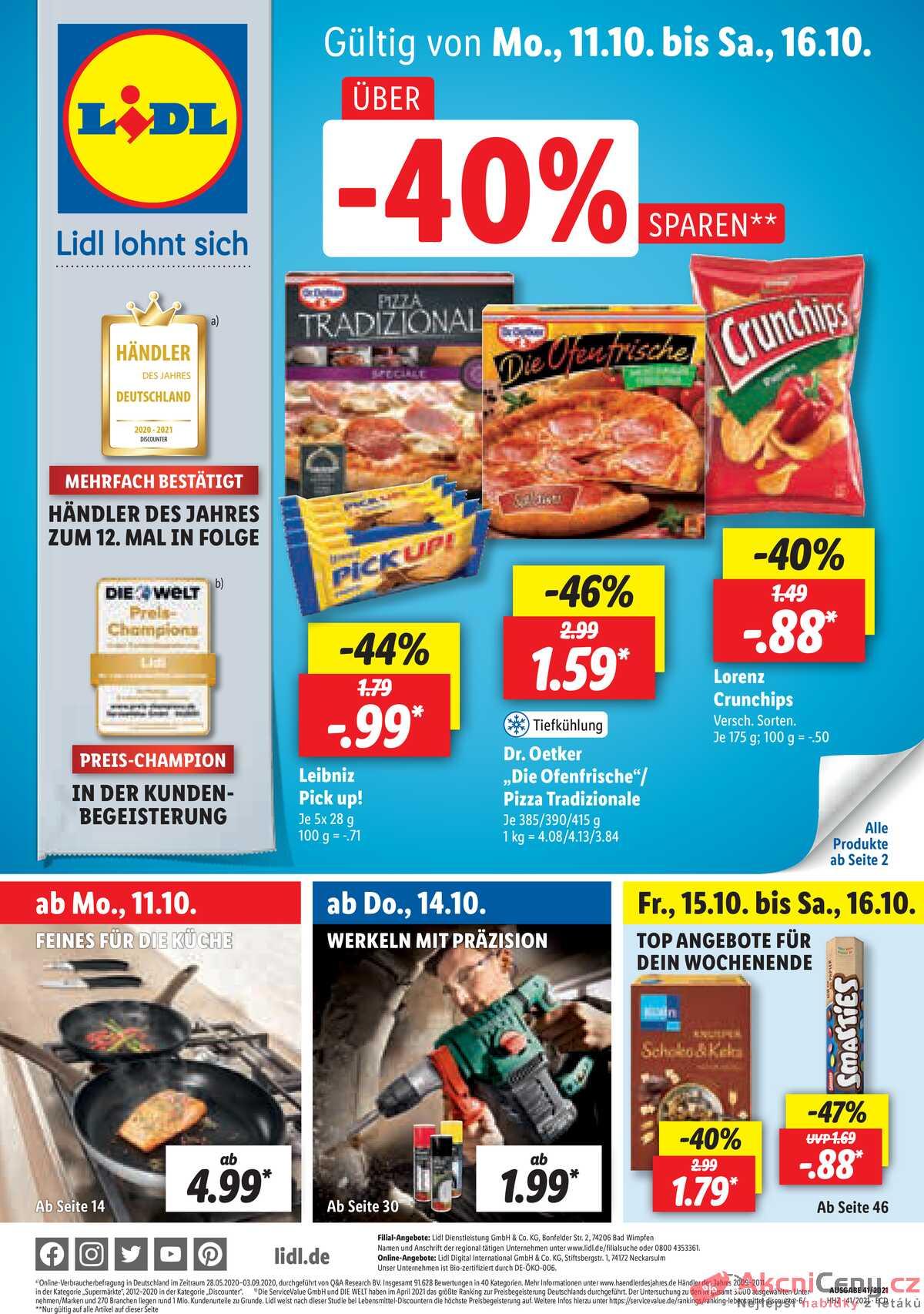 Leták Lidl Deutschland strana 1/26