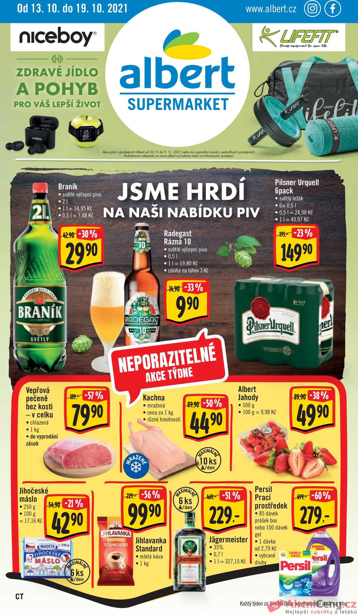 Leták Albert Supermarket strana 1/16