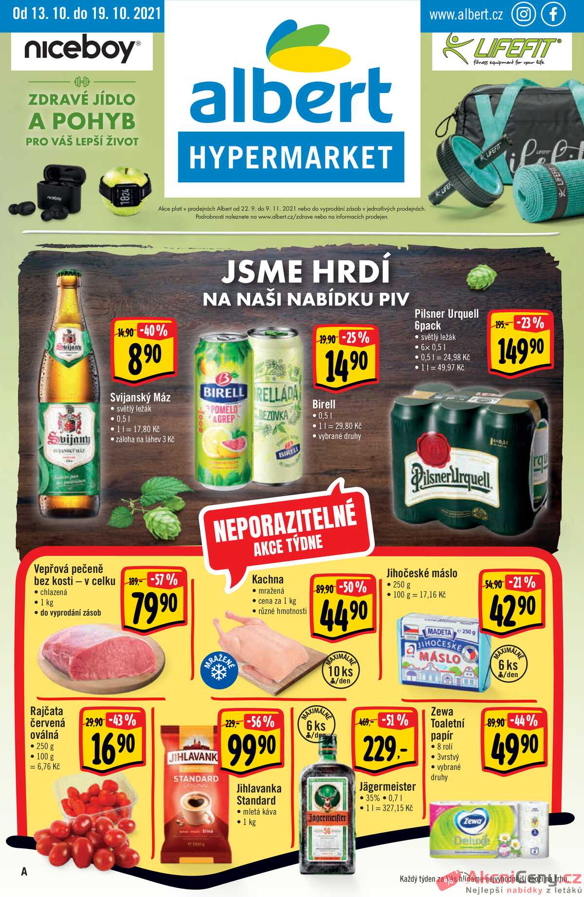 Leták Albert Hypermarket strana 1/40