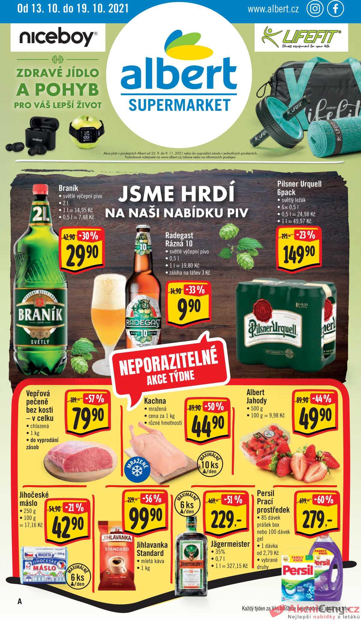 Leták Albert Supermarket strana 1/28