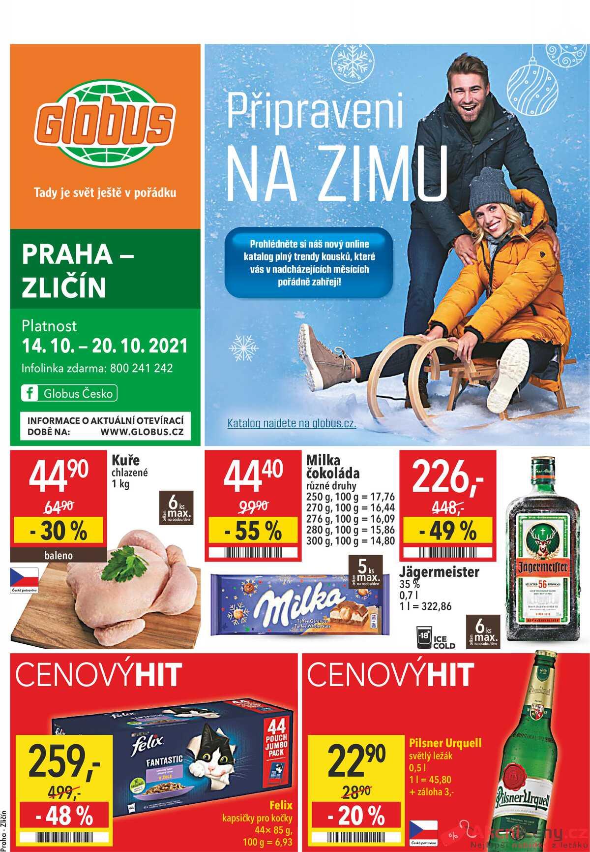 Leták Globus strana 1/28