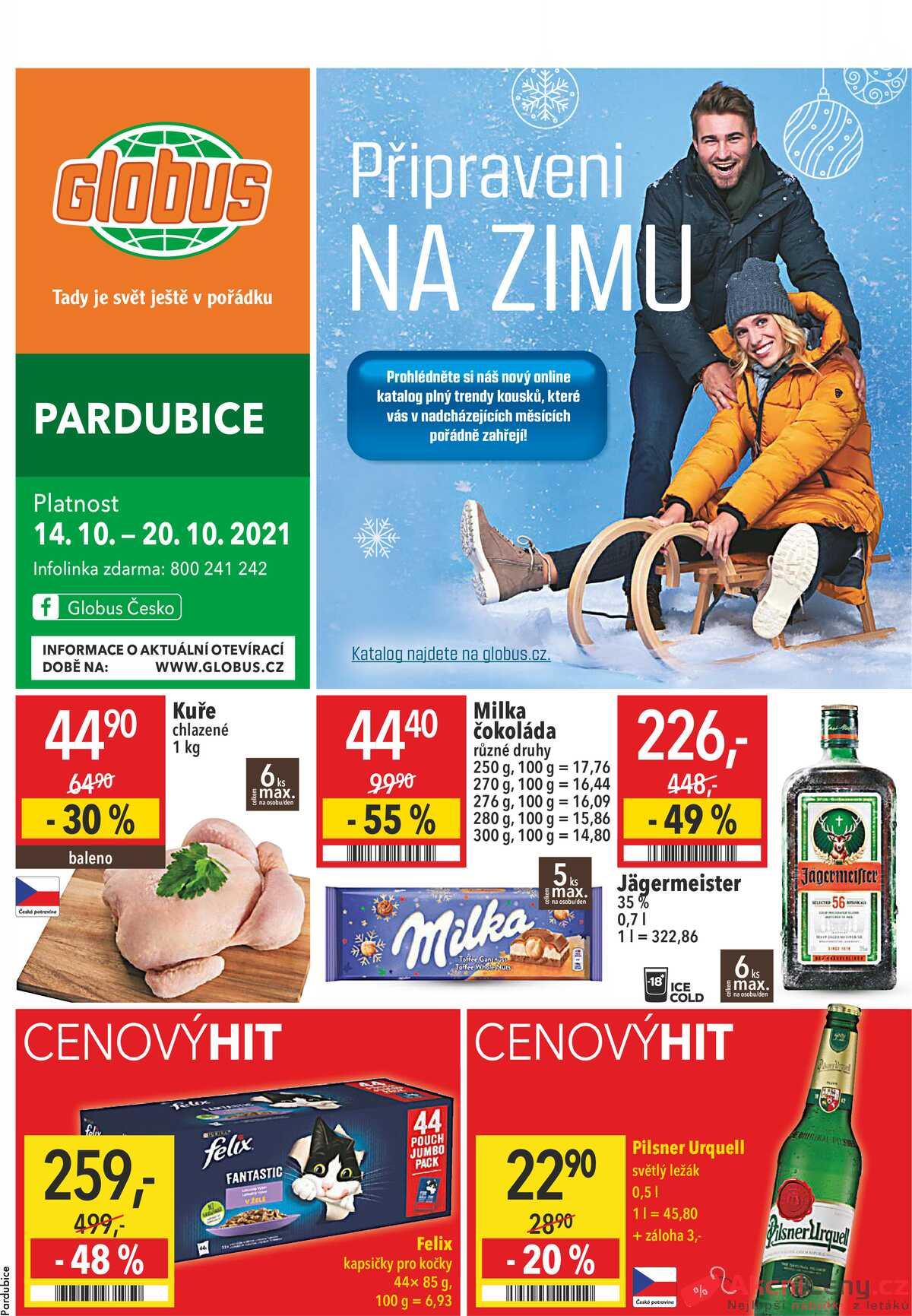 Leták Globus strana 1/21