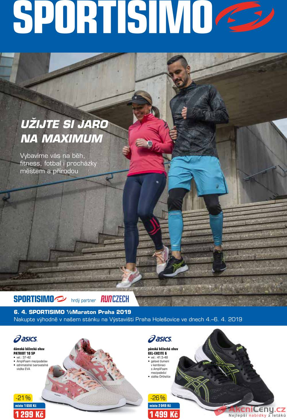 Leták Sportisimo - Sportisimo 14.3. - 24.3. - strana 1