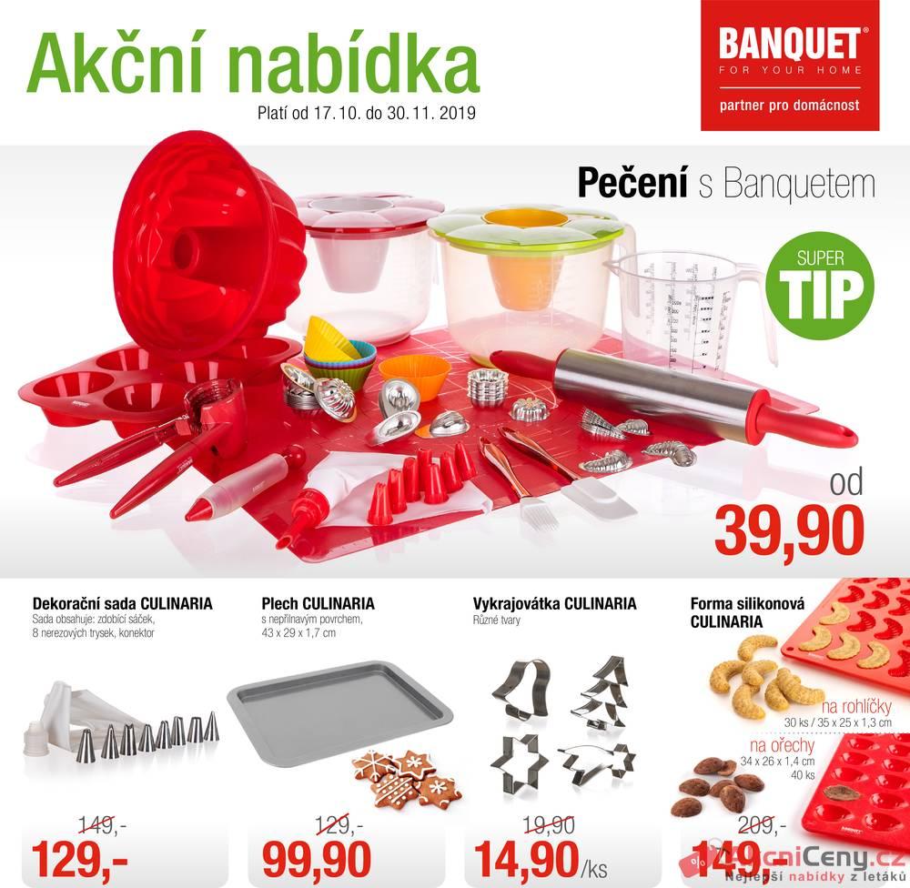 Leták BANQUET  - BANQUET  od 17.10. do 30.11.2019 - strana 1