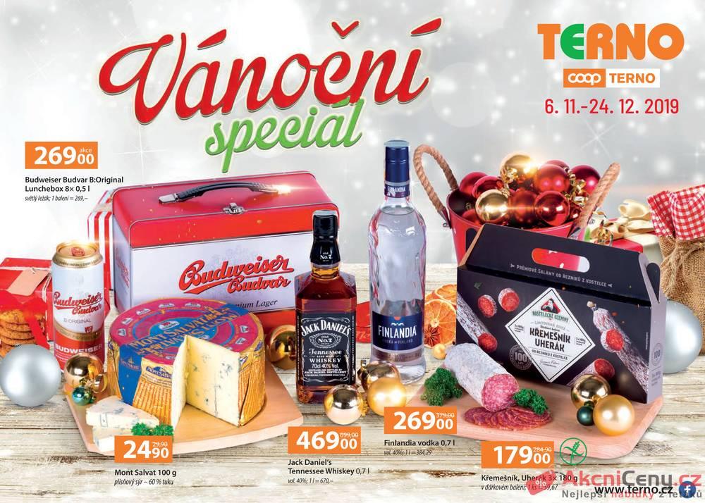 Leták Terno - Terno Vánoční speciál od 6.11. do 24.12.2019 - strana 1