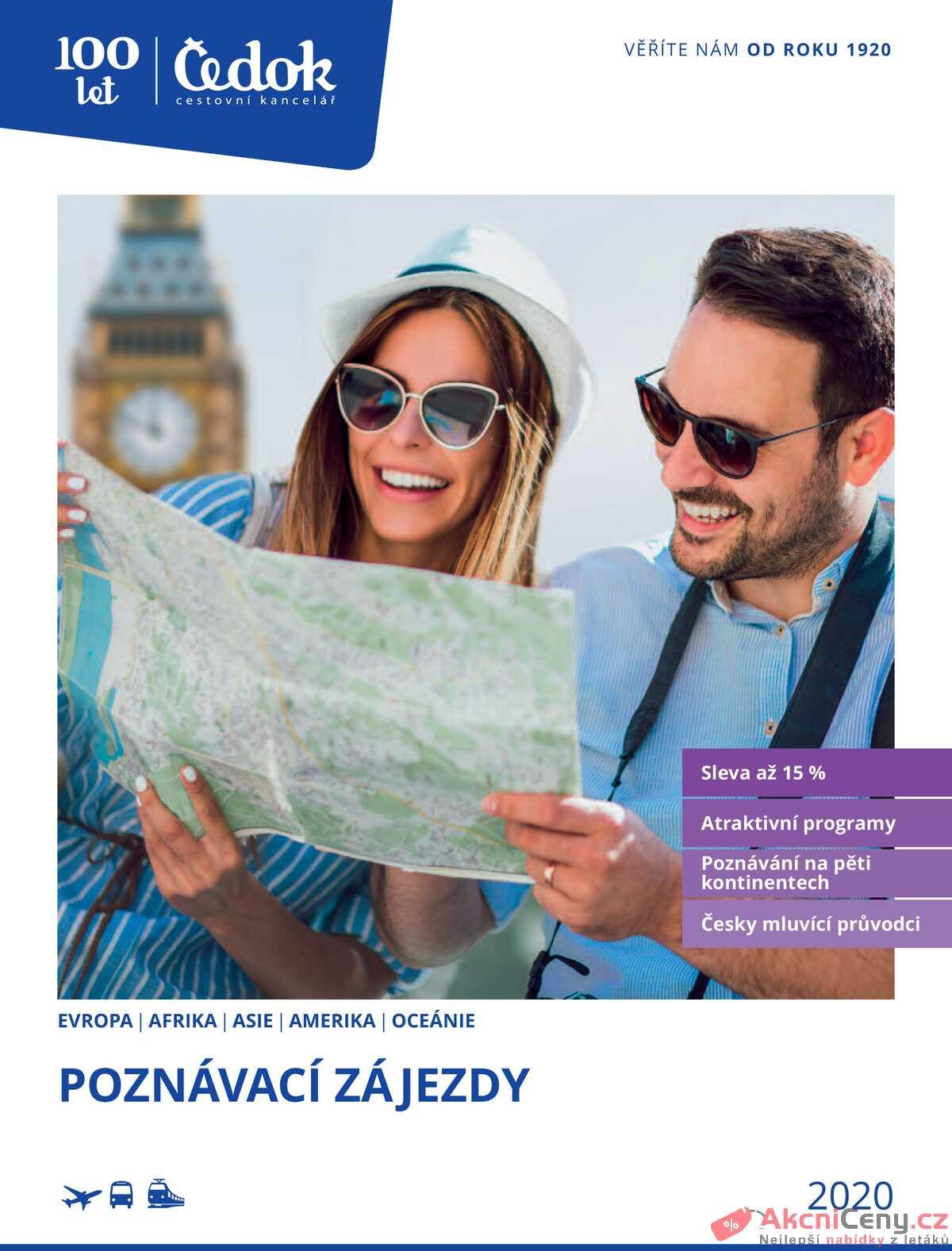 Leták Čedok strana 1/326