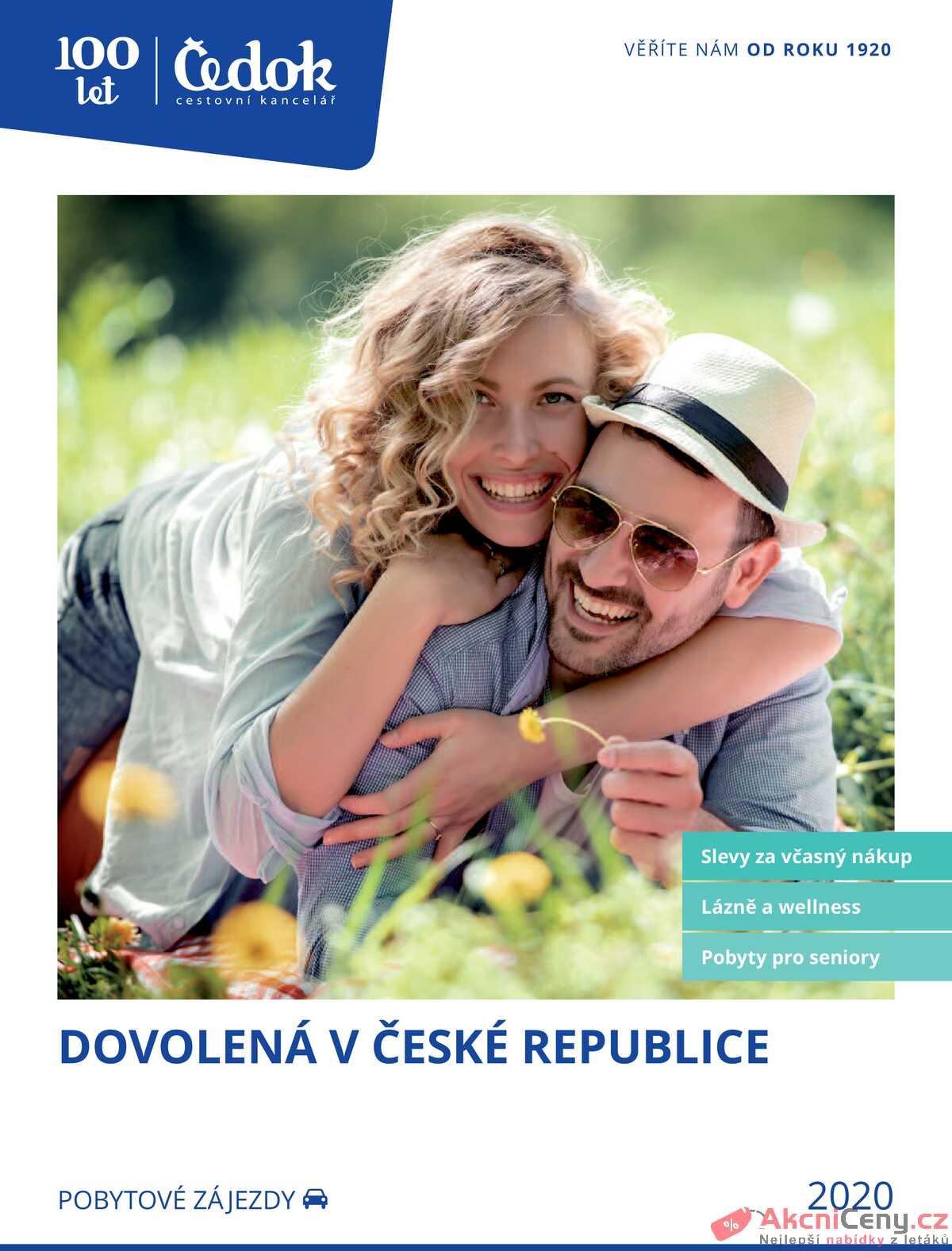 Leták Čedok strana 1/163