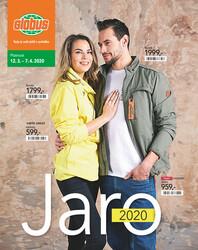 Leták Globus katalog Textil 12.3. - 7.4.