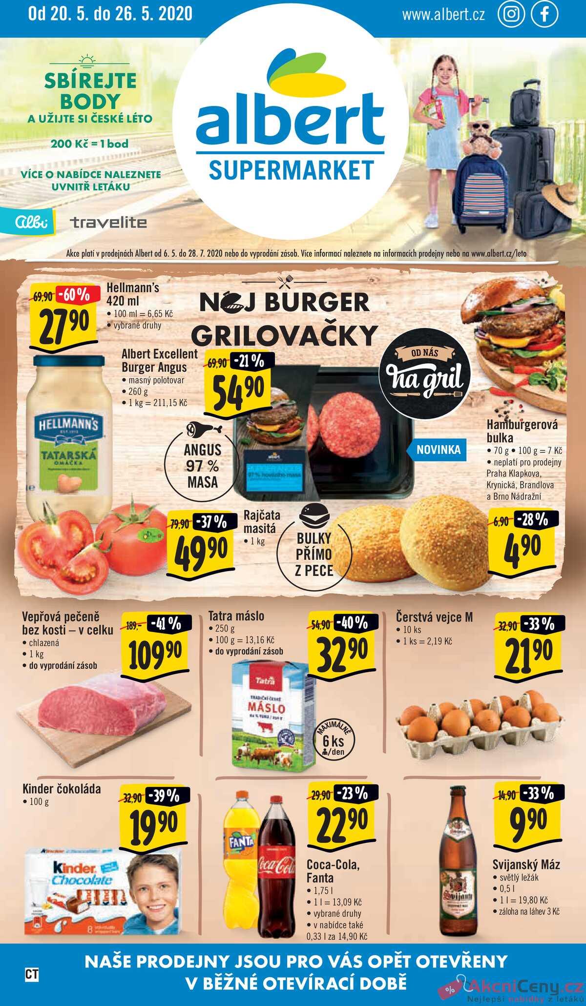 Leták Albert Supermarket strana 1/12
