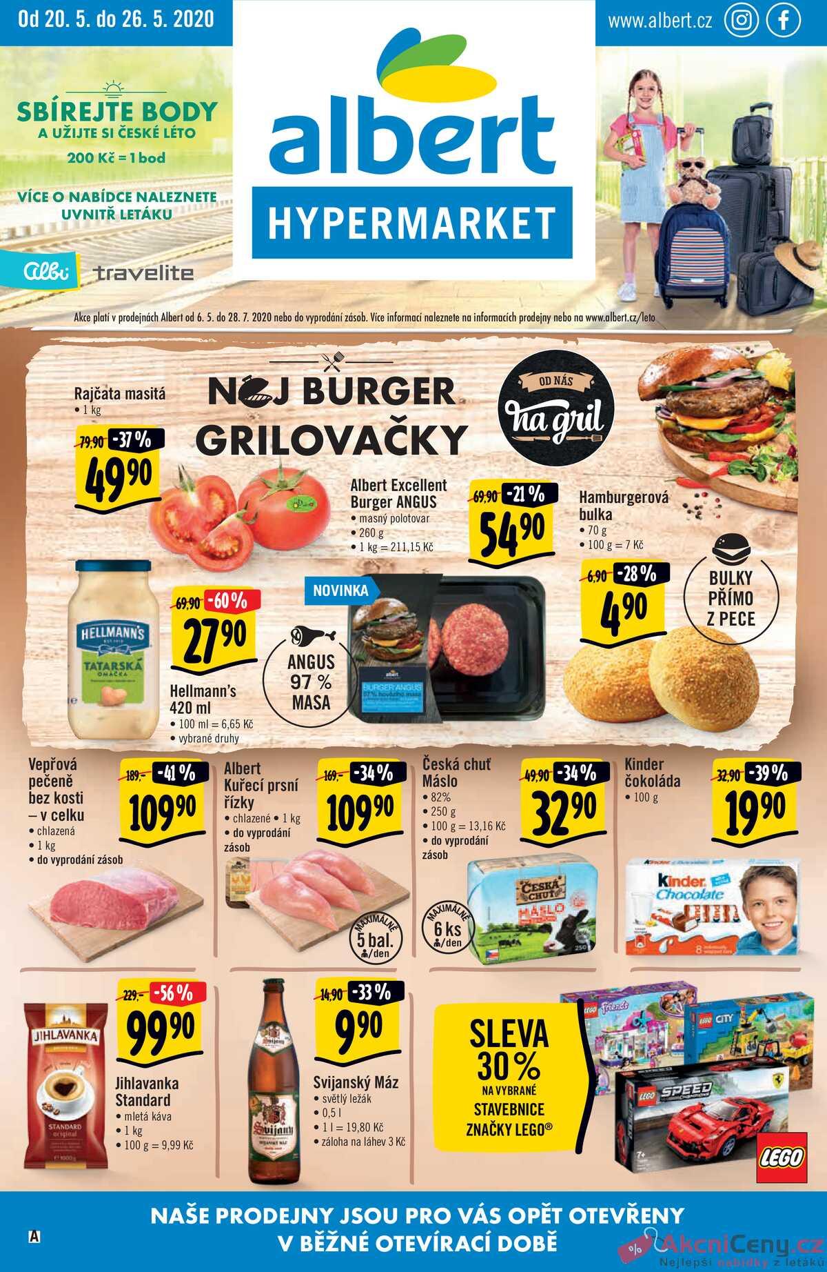 Leták Albert Hypermarket strana 1/24