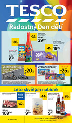 Leták Tesco malé hypermarkety od 27.5. do 2.6.2020