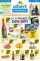 Leták Albert  Hypermarket od 27.5. do 2.6.2020