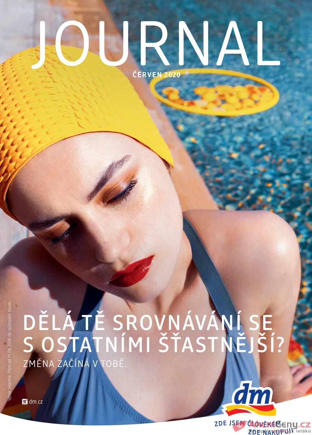 Leták dm drogerie markt - DM drogerie  od 11.6. do 8.7.2020 - strana 1