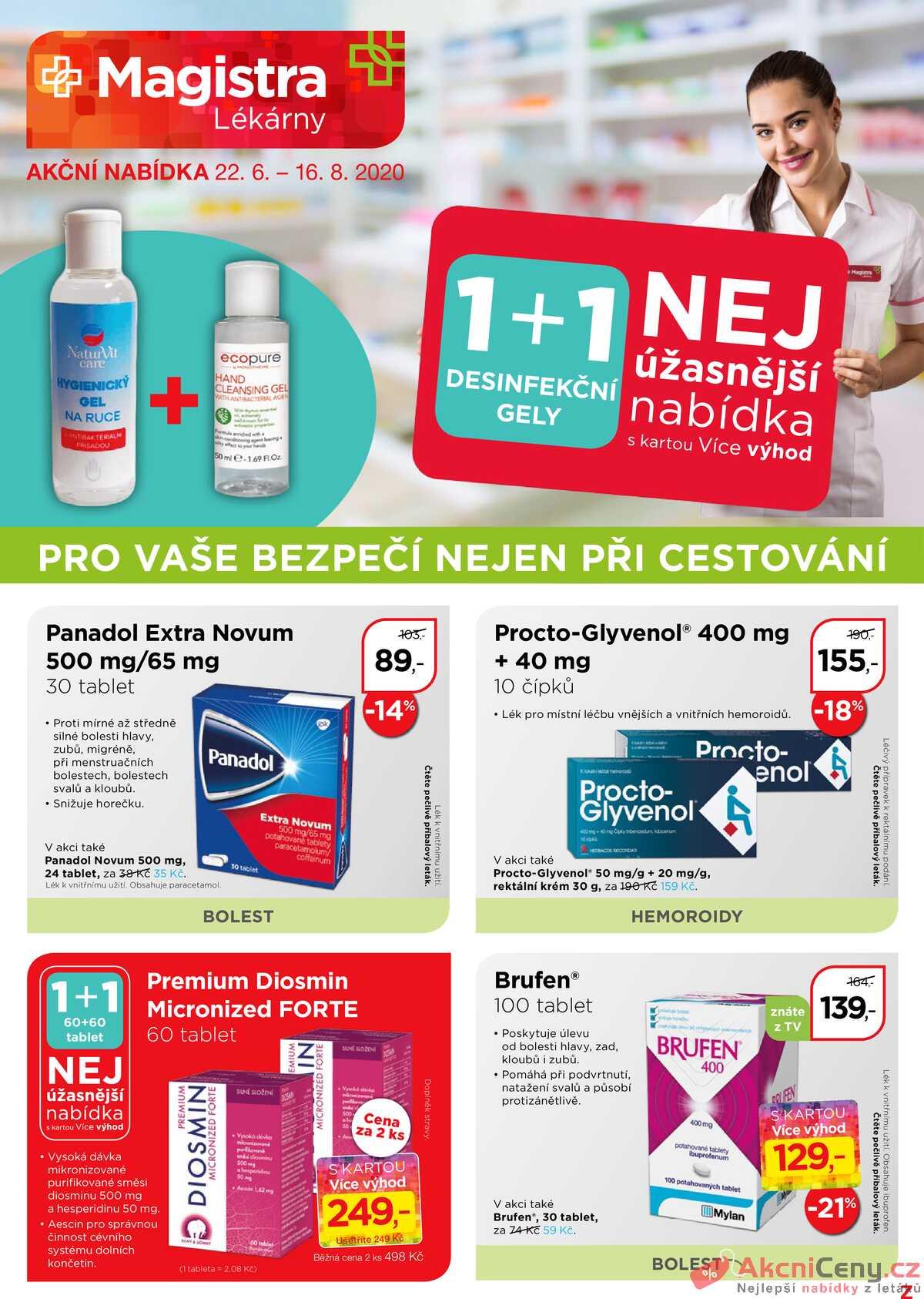 Leták Magistra lékárny strana 1/8