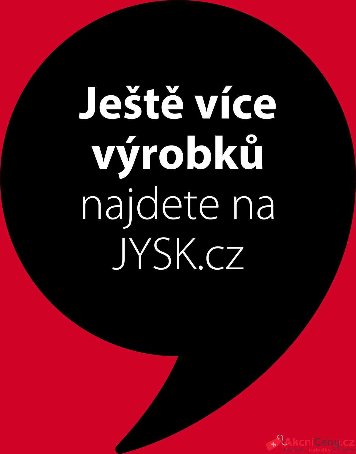 Leták Jysk strana 1/9
