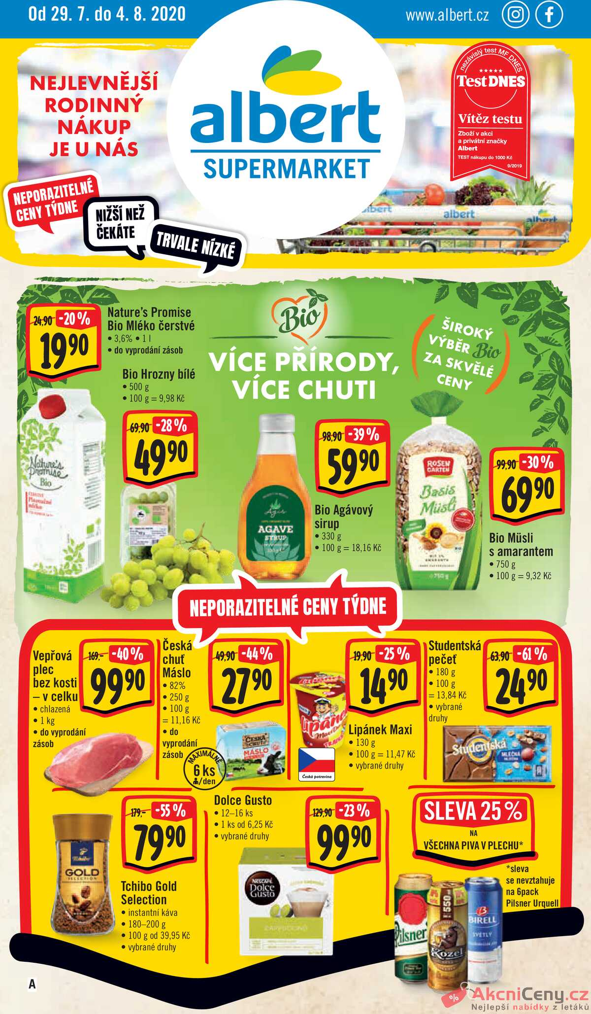 Leták Albert Supermarket strana 1/20