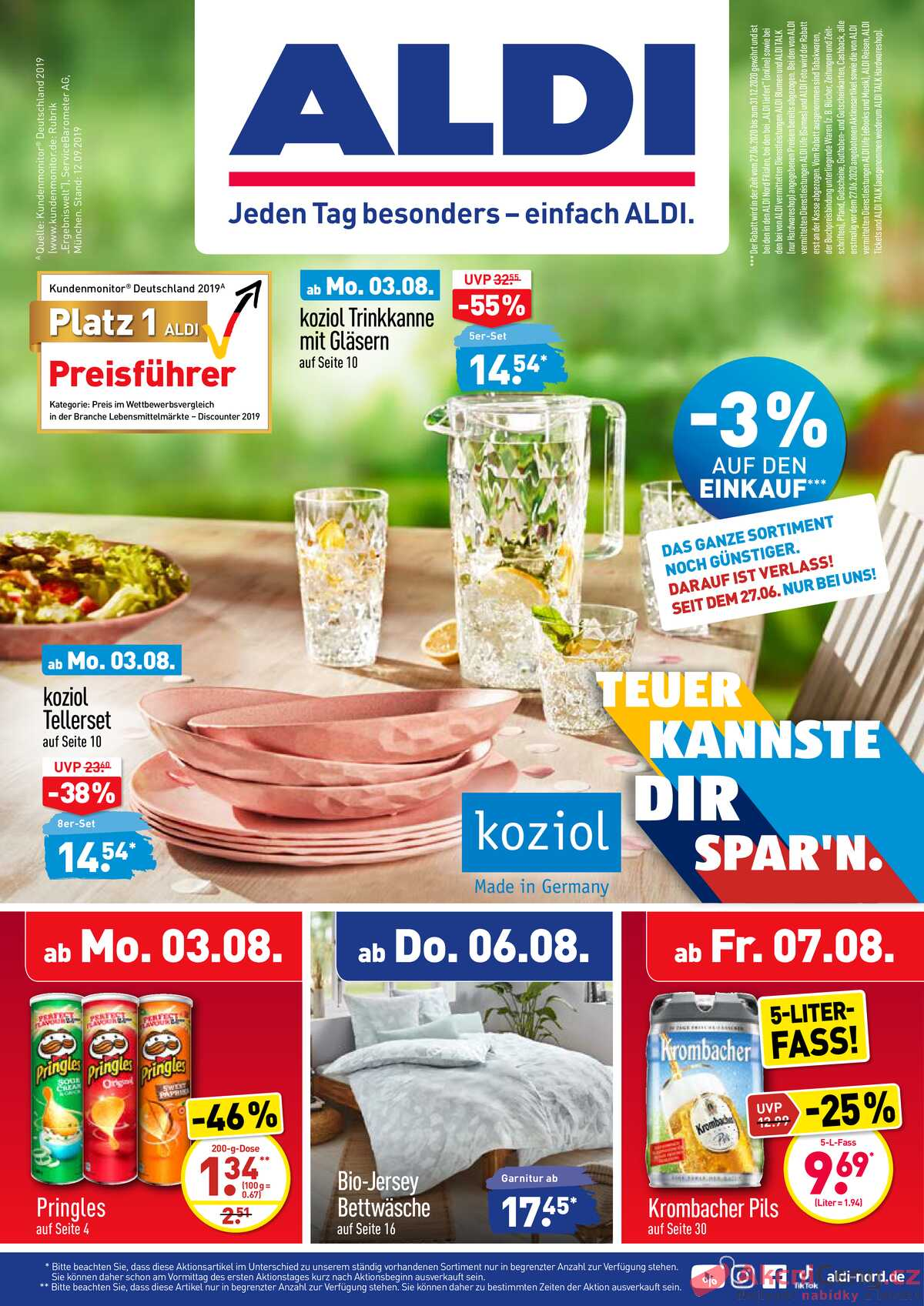 Leták Aldi Deutschland strana 1/32