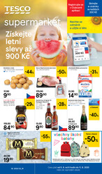 Leták Tesco supermarkety od 5.8. do 11.8.2020