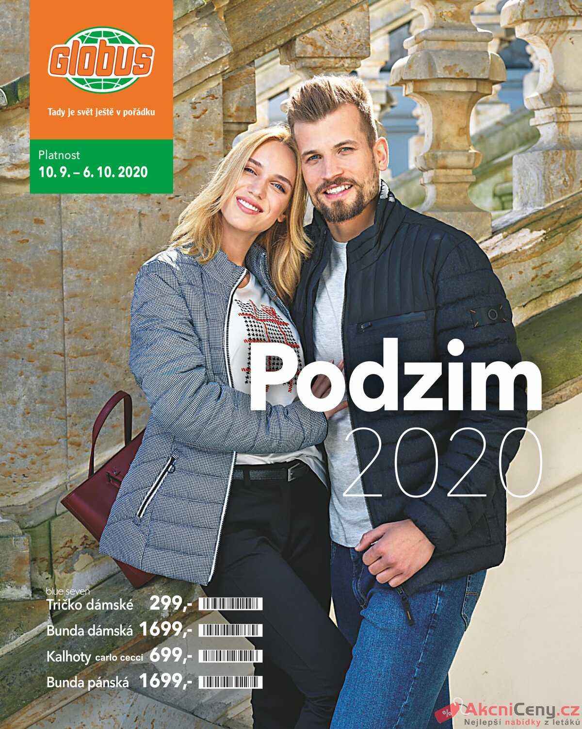 Leták Globus strana 1/16